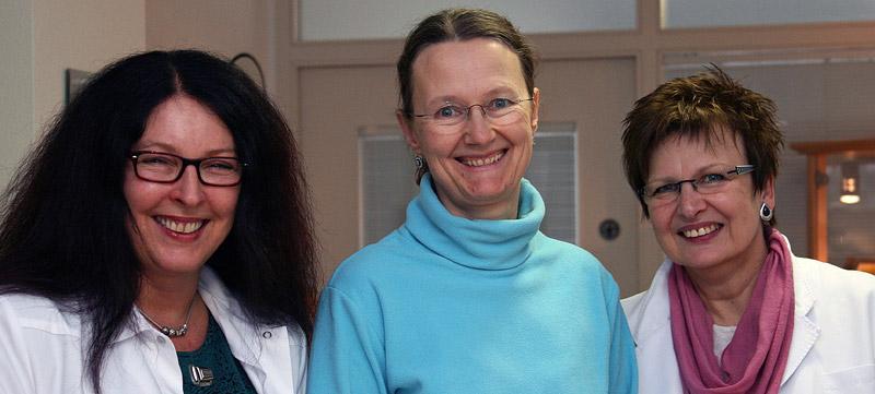 Das Team der Hauszart-Praxis Dr. Göser